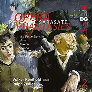 Sarasate: Opera Phantasies, Vol. 2