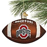NCAA Ohio State Buckeyes 4'' Glass Footb...