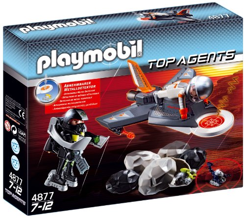 Playmobil - Avión Detector de Espionaje 4877