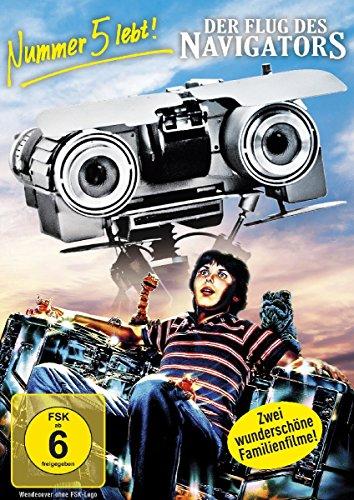 Nummer 5 lebt! / Der Flug des Navigators [2 DVDs] Navigator Dvd