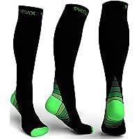 Physix Gear Sport Calze Compressione Graduata Uomo e Donna (20-30 mmHg) - Calze Elastiche Sportive per circolazione…
