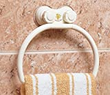 Woogor Wall Mount Suction Towel Ring Hol...