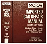 Image de Motor Imported Car Repair Manual 1995-97: Includes Light Trucks ; Mitsubishi, Nissan, Porsche, Saab, Subaru, Suzuki, Toyota, Volkswagen, Volvo: 2