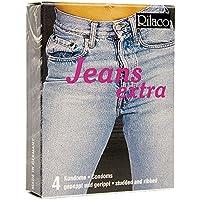 RILACO Kondome Jeans 4 Stück, 1er Pack (1 x 4 Stück) preisvergleich bei billige-tabletten.eu