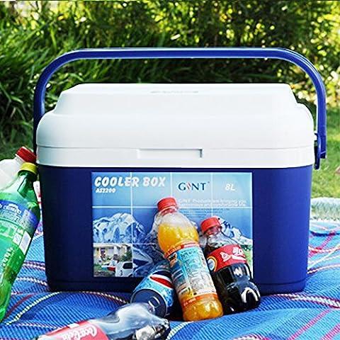 Zogin Refrigerador / Nevera Portátil para Camping / Senderismo / Playa, Color Azul - 8L