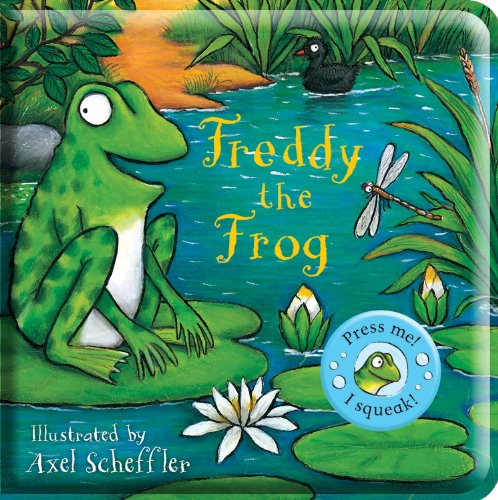 Freddy the Frog Bath Book (Axel Scheffler's Noisy Bath Books) por From Campbell Books