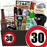 Geschenk zum 30. Geburtstag | DDR Paket Männer | GRATIS DDR Kochbuch | Männer Set