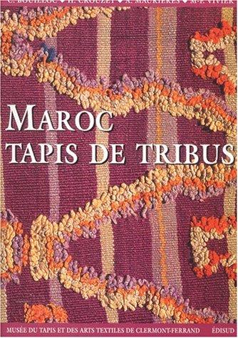 Maroc, Tapis de tribut : Musée du tapis et des arts textiles, Clermont-Ferrand, décembre 2001