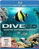 Dive 3D - Magische Unterwasserwelten (3D Version inkl. 2D Version & 3D Lenticular Card) [3D Blu-ray]