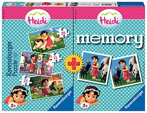 Heidi - Multipack Memory + 3 Puzzles (Ravensburger 06873)