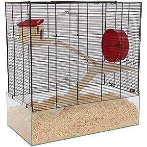 [Gesponsert]Mäuse- & Hamsterheim - Kleintierkäfig OREGON