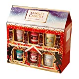Yankee Candle Geschenkset Weihnachten 2015, 12 Sampler Kerzen, Deko Duftkerze, 1351189