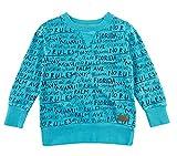 Sommersweat in Aqua Blau mit Schriftprint von STURDY Serie MIAMI 0195 Size 104