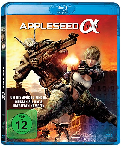 Appleseed - Alpha [Blu-ray]
