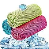 Best Cooling Towels - BESROY Cooling Towel 3 Pcs, Ice Towel, Microfiber Review
