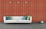 BDPP Washable Vinyl Coated Imported Mettalic Wallpaper-W374(Covers approximately 50 square. Feet.)