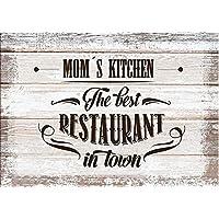 Schatzmix Moms Kitchen Hours of Operation blechschild