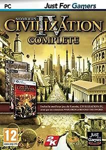 Civilization (Sid Meier's) IV - édition complete (jeu + ext 1 + ext 2)