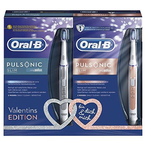 Oral-B Pulsonic Slim Schallzahnbürste Powered by Braun Duopack - 6