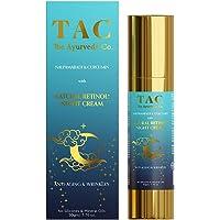TAC - The Ayurveda Co. Night Cream For Women Glowing Skin, with Nalpamaradi, Curcumin & Natural Retinol For Anti-Ageing…