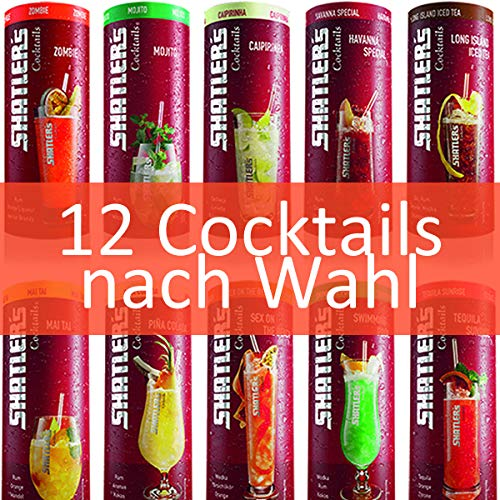 Shatler´s Cocktail Wunsch-Paket (12x0,2l) -