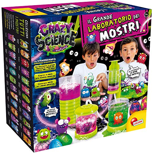 Lisciani Giochi - 77281 Gioco per Bambini Crazy Science La Grande Fabbrica dei Mostri