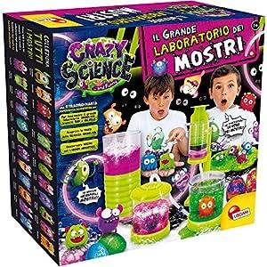 Lisciani Giochi - 77281 Juego para niños Crazy Science La Gran fábrica de los Monstruos