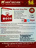 MaxSecure Anti Virus 1PC, 1 Year (Voucher)