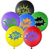 TUPARKA 18Pcs Supereroi Palloncini per Bambini ,Decorazioni per Palloncini Supereroi Avengers Feste ( 6 Colori)