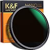 K&F Concept 82 mm variabel ND-filter justerbar Fader neutral densitet ND2 - ND32-filter, NO Spot X Black X Issue, MRC 18-lage