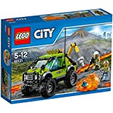 LEGO - 60121 - City - Jeu de construction  - Le Camion d'Exploration du Volcan