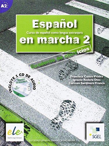 Espanol En Marcha 2 Exercises Book + CD A2