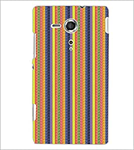 PrintDhaba Pattern D-5128 Back Case Cover for SONY XPERIA SP (Multi-Coloured)