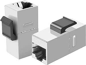 Cablecreation 10er Pack Cat6 Shielded Inline Modular Computer Zubehör