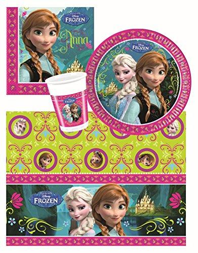 Procos 10105464 - Set di accessori per feste, motivo: Frozen, misura S