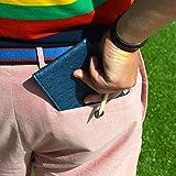 On Par Premium Golf Scorecard Holder - Ostrich, Navy/Grey