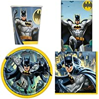 Batman Party Tableware Pack for 8 & Amazon.co.uk: Batman - Party Tableware / Party Supplies: Toys u0026 Games