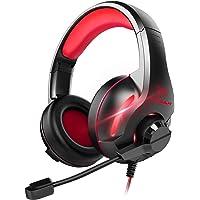 YINSAN TM7, Cuffie Gaming PS4, Cuffia Gamer con Microfono e Bass stereo, Controllo del Volume, Illuminazione a LED…