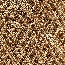 Anchor Artiste - Hilo para croché, punto y bordado (25 g), diseño metalizado