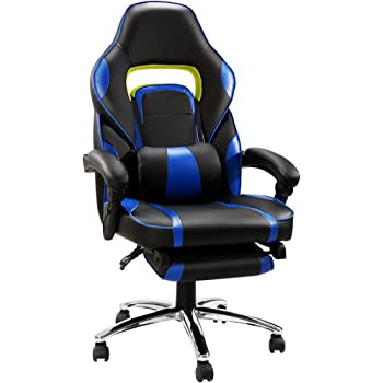 Langria High Back Racing Style Faux Leather Executive