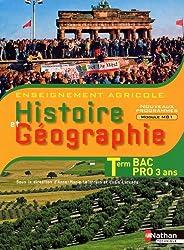 Histoire et Géographie Tle Bac Pro 3 ans agricole