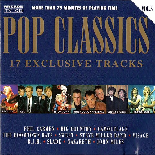 P O P (Compilation CD, 17 Tracks, Various incl. Big Country - Look Away) Barclay James Harvest - Life Is For Living / Slade - Skweeze Me, Please Me / Level 42 - Love Games / Godley & Creme - An Englishman In New York / Fine Young Cannibals - Johnny Come Home u.a.