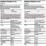 Lebenskraft BP-WR Emergency Food Long-Term Food, Cold and Hot-Edible 500 g 4