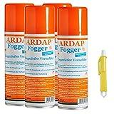 4 x 200 ml Ardap FOGGER Ungeziefer Sprühautomat gegen Insekten + Zeckenzange