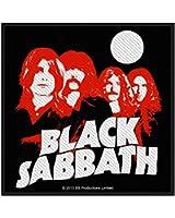 BLACK SABBATH - Red Portraits - Patch / Aufnäher
