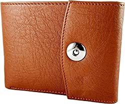 Wildantler Tan Mens Wallet
