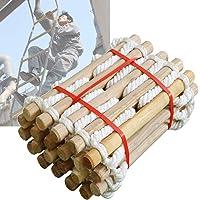MAHFEI Feuerleiter, Feuerfeste Rettungsleiter Strickleiter Erwachsene for Home Balcony Soft Ladder Sicherheitsseilleiter…