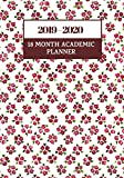 """2019 - 2020 18 Month Academic Planner: Simple Easy To Use August 2019 to December 2020 Academic Daily Weekly Monthly and Year Calendar Planner ... Record Book Log 7""""x10"""" with over 180 pages."""