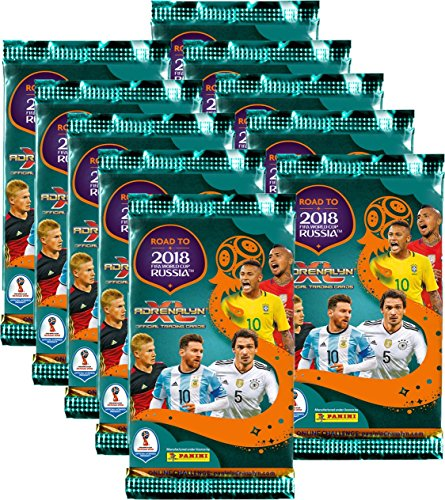 Panini - Road to World Cup 2018 Russia - Adrenalyn XL (10 Booster)
