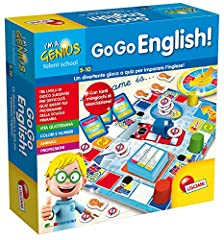 Idea Regalo - Lisciani Giochi Piccolo Genio Talent School Go-Go English, 48892